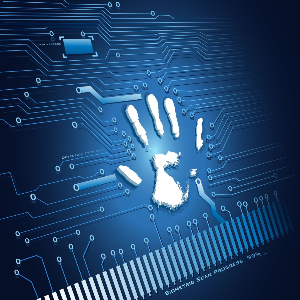 Biometrics recognition works by granting or denying access to areas by comparing physical characteristics and images already stored in a computer or memory device with that of the person wanting to enter a facility. (image: Kobizmedia/ Korea Bizwire)