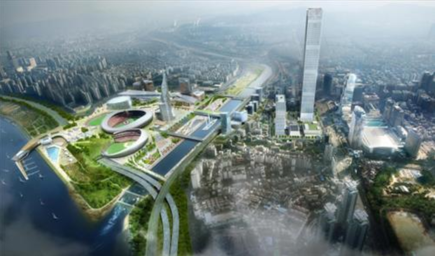 The new facilities will become the third largest MICE complex in Asia, after Guangzhou (330,000m2) and Shanghai (200,000m2).