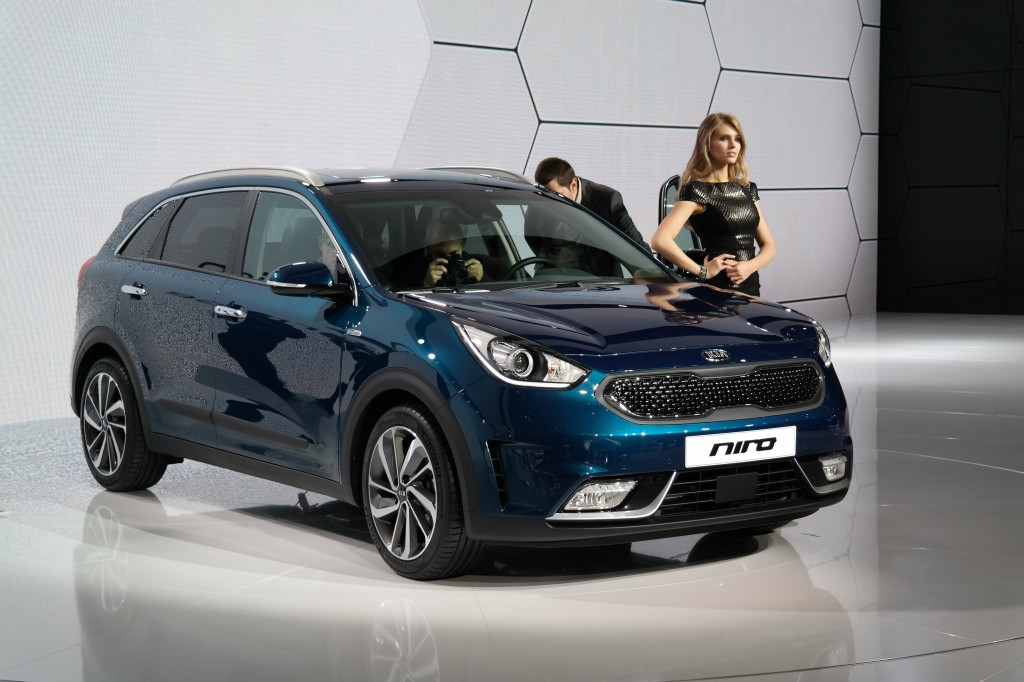 "Kia Motors Corp.'s hybrid SUV ""Niro"". (image: Wikipedia)"
