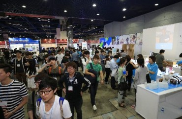 Tech Firms Display Smart Technologies at World IT Show