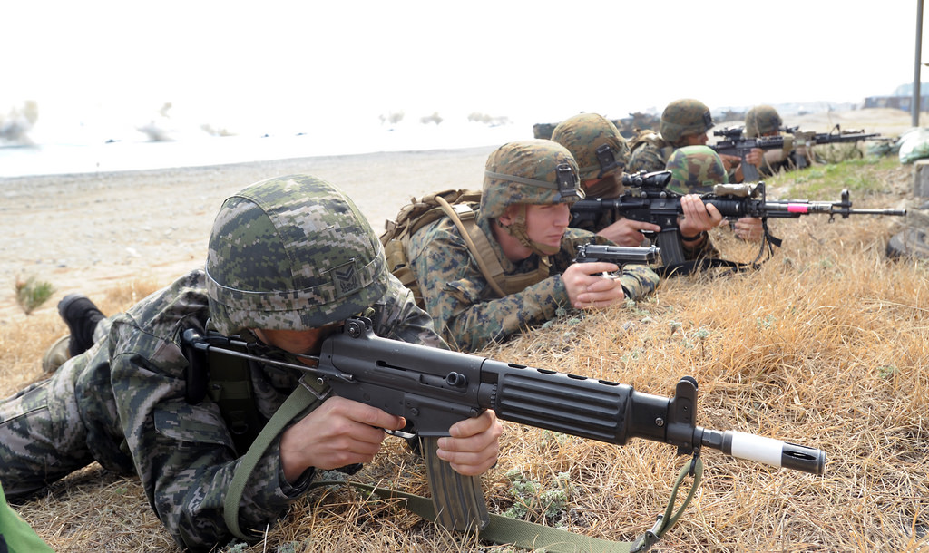 """""""By 2017, most USFK units, including its headquarters, will finish relocation,"""" the task force said. (image: Flickr/ Republic of Korea Armed Forces)"""