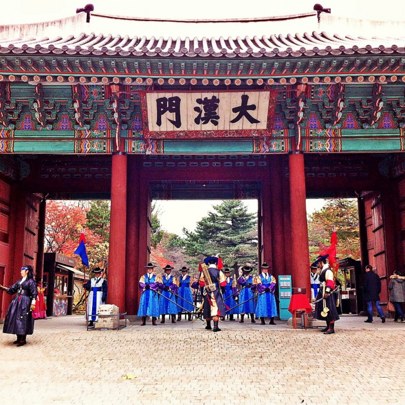 The Guardians of Deoksugung Palace