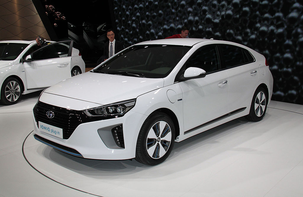 Hyundai Motor's Ioniq. (image: Wikimedia)