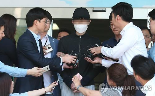 A 34-year-old man was arrested last Tuesday on suspicion of killing the 23-year-old woman at a bar bathroom near one of Seoul's busiest subway stations in the southern district of Gangnam. (image: Yonhap)