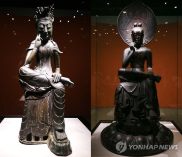Buddhas of Korea and Japan Meet Each Other for the First Time