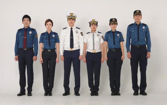 Korean Police Uniform Gets a Facelift