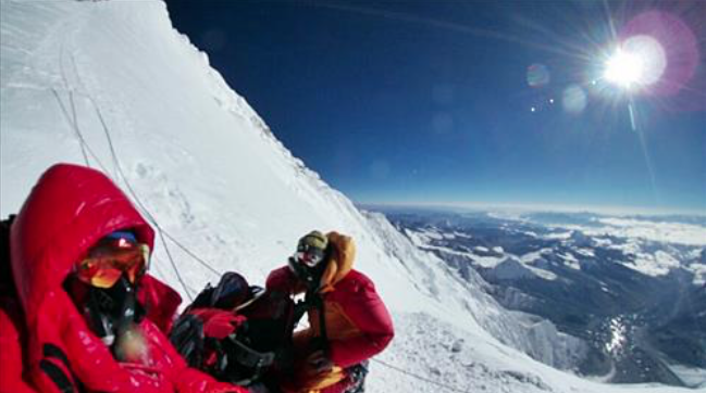 This was the first time in history images and videos of Everest were captured using VR equipment. (image: Yonhap)