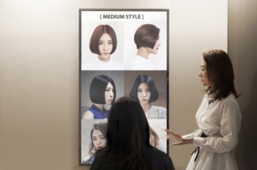 Korean Hair Salon Introduces Smart Mirror