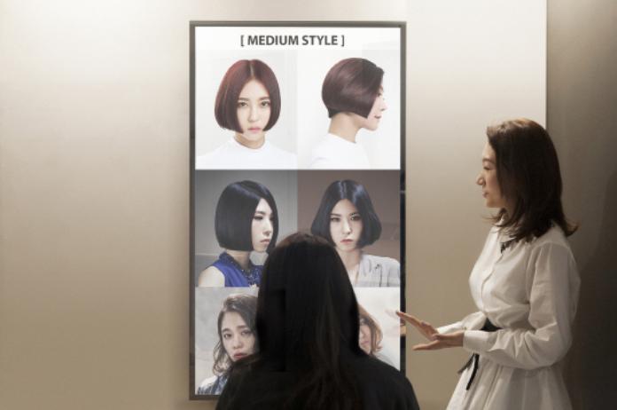 Korean Hair Salon Introduces Smart Mirror