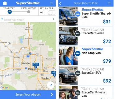 "The new SuperShuttle App Allows Customers to Book ""On Demand"" Rides from Over 25 US Airports"
