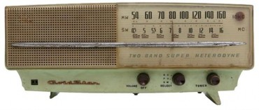 Back to the Future: Radio from 1959 Up for Auction