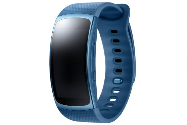 The sporty and stylish wrist band has an embedded GPS and improved sensors, making itself far smarter than the Gear Fit released in 2014, according to sources. (image: Samsung Electronics)