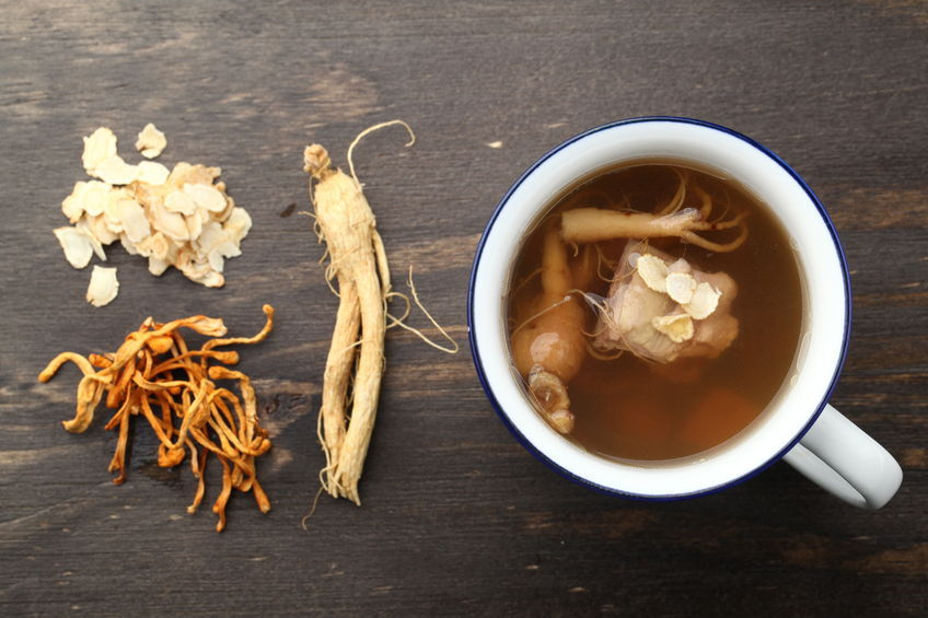 """Our research showed that red ginseng helps vitalize the frontal lobe by increasing alpha wave activity,"" said Dr. Huh. ""Regular consumption of red ginseng will help improve the memory function of Alzheimer's patients."" (image: KobizMedia/ Korea Bizwire)"