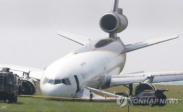 Seoul Probing Crash of U.S. Cargo Plane in Incheon