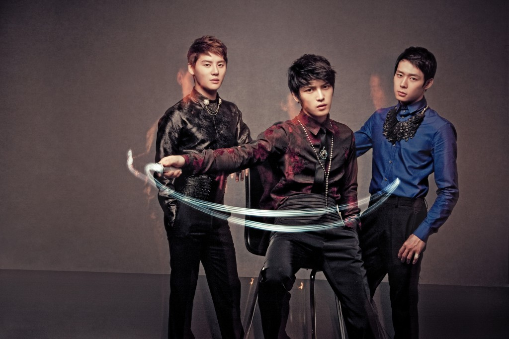 Park Yoo-chun (R) is a member of a Korean idol group JYJ. (image: Wikimedia)