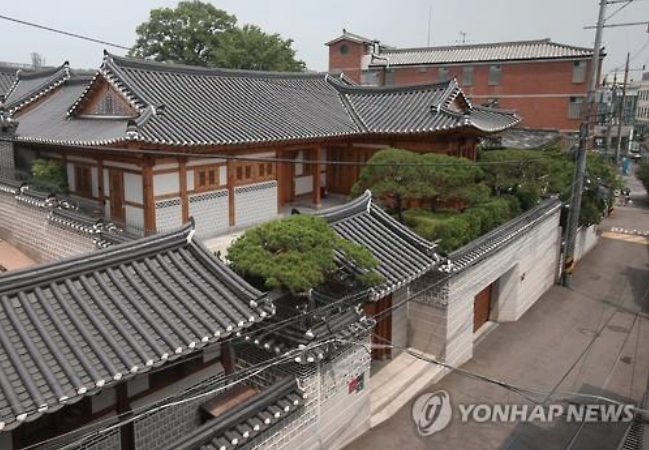 The younger Shin's personal safe was discovered on June 10 at his house, also referred to as Young-bin-gwan (Korean for 'guesthouse'), in Jongno. (image: Yonhap)
