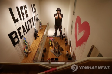 Mr. Brainwash Exhibition Opens in Korea