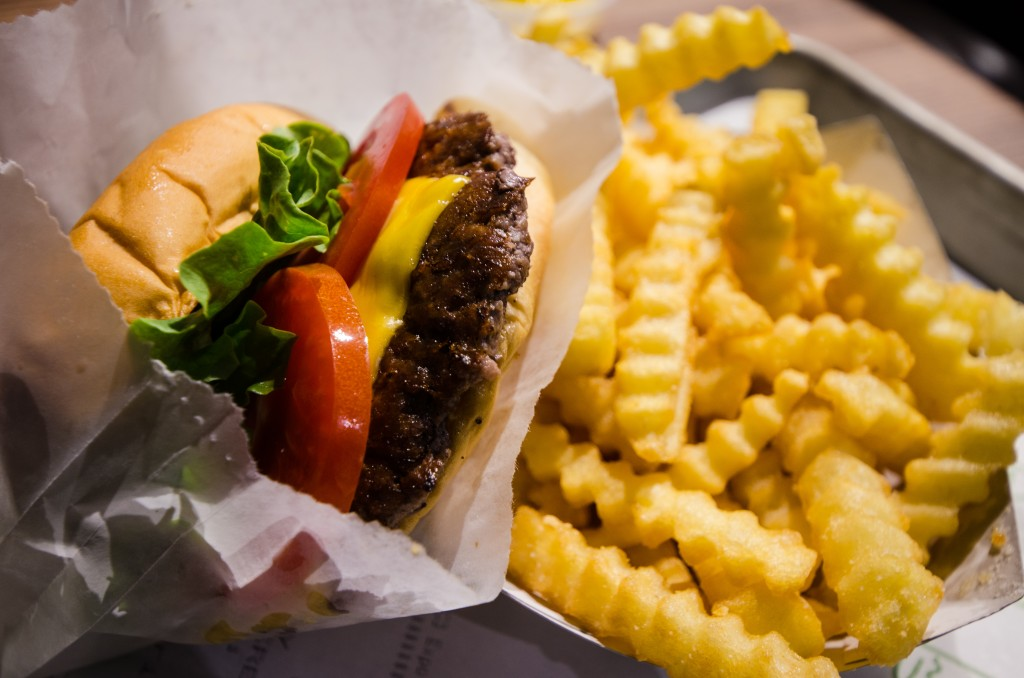 Best known for its burger and milk shake combo, Shake Shack is an American fast casual restaurant. (image: Wikimedia)