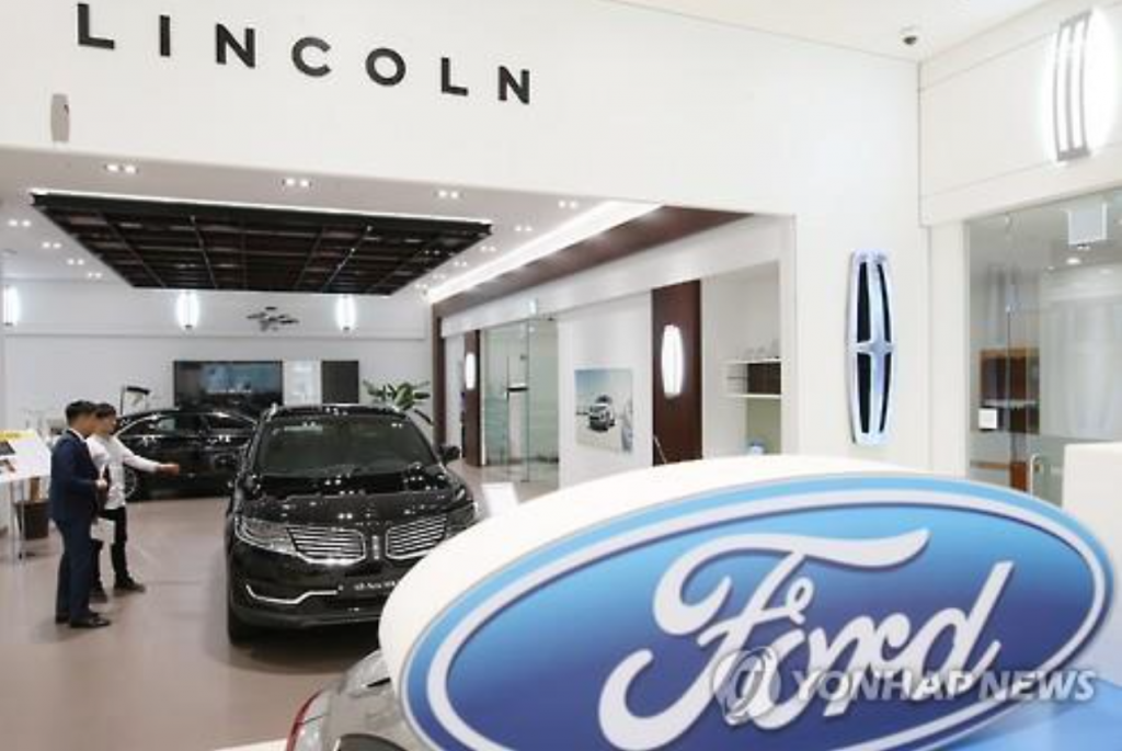 Ford Sales and Service Korea, the local importer and distributor of U.S. automaker Ford Motor Co., sold 10,358 cars last year, up 147 percent from 2011 when it sold 4,184 units, according to data. (image: Yonhap)