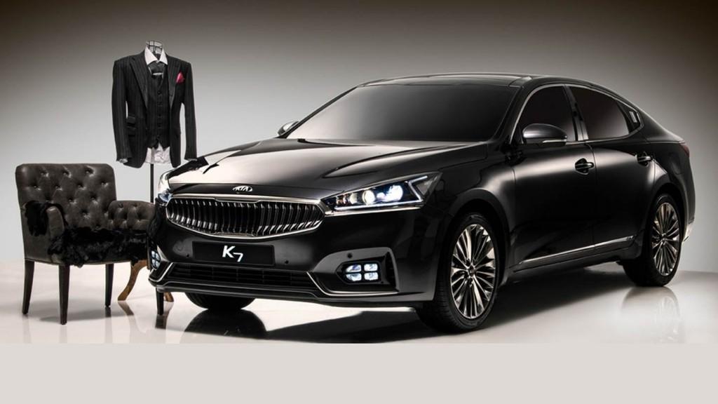 The new K7 (Cadenza) 2017. (image: Kia Motors)
