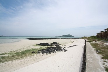 West Sea Sand Saves Disappearing Jeju Beaches