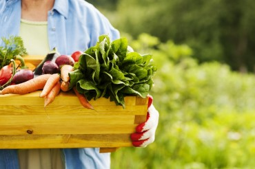 Small-Scale Farmers Selling Crops on Online Shopping Mall