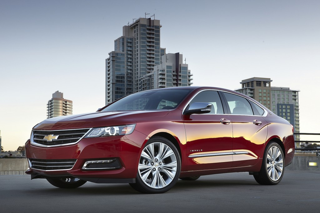 The Chevrolet Impala by GM Korea Co., the South Korean unit of U.S. carmaker General Motors Co. (image: GM Korea)