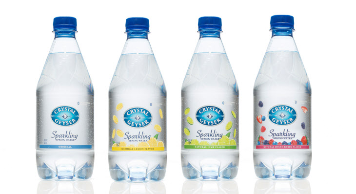 The sparkling water will come in four different flavors – original, lemon, lime, and mixed berry – with the water coming from a spring in Napa Valley, California. (image: Hyundai Asan)