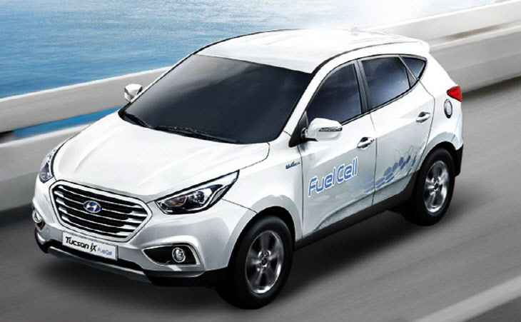 First Generation Tuscon iX fuel cell vehicle. (image: Hyundai Motor)