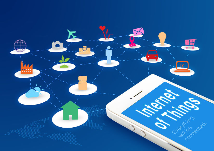 Samsung said four projects involved IoT -- a concept in which all tangible objects are connected to the internet and can identify themselves to other devices in order to exchange necessary data for improved efficiency and convenience. (image: KobizMedia/ Korea Bizwire)