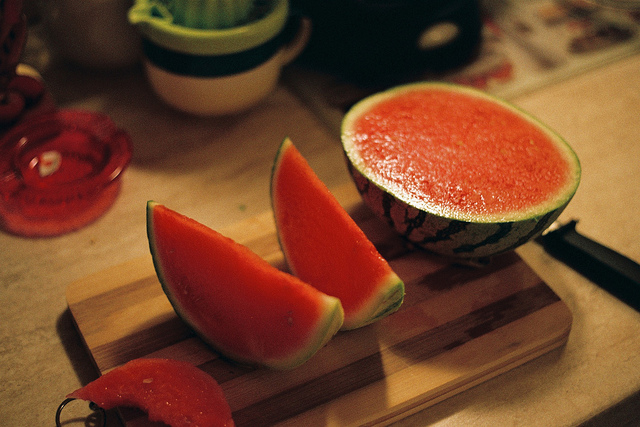 Japanese Crave Seedless Watermelons from Korea