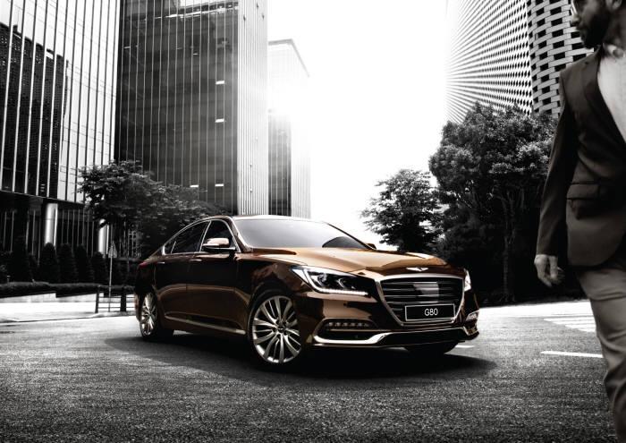 Hyundai Motor Releases New G80 Luxury Sedan