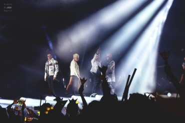 BigBang Makes Forbes' Celebrity 100 List