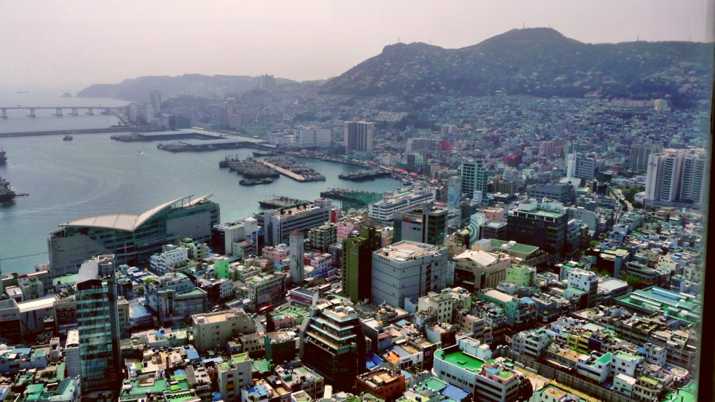 Busan, a port city located in the southwest of the peninsula, is the second most populated city in Korea. (image: Wikimedia)