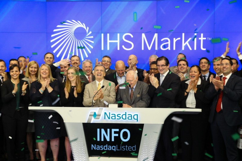 Nasdaq Welcomes IHS Markit Ltd. to the Nasdaq Stock Market