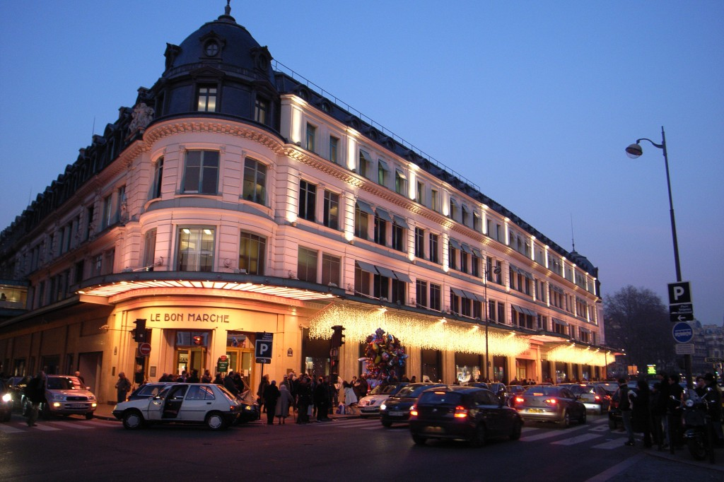 Le Bon Marché was initially founded as a small-scale novelty shop in 1838. (image: Wikimedia)