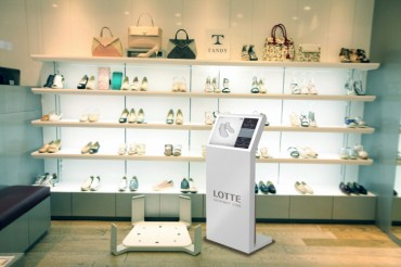 Lotte Department Store to Introduce 3D Foot-Measuring Device