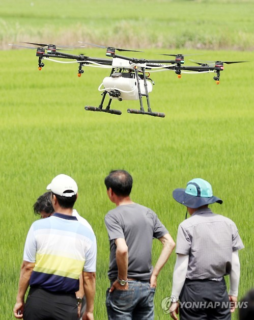 Farmers Turn to Drones for Crop-Spraying | Be Korea-savvy