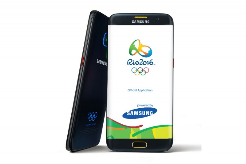 Samsung Launches Galaxy S7 Edge Olympic Games Limited Edition