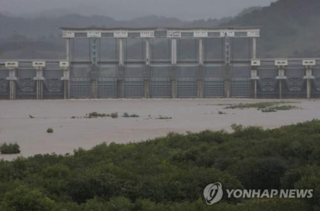 Six South Koreans were killed in September 2009 after North Korea released a massive amount of water from the border dam without prior warning. (image: KobizMedia/ Korea Bizwire)