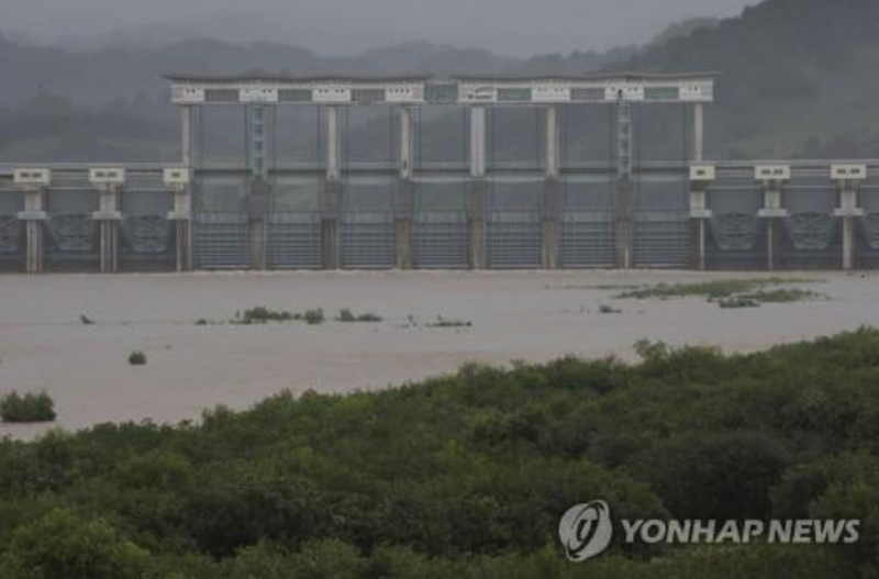 N. Korea Discharges Dam Water near Border with South