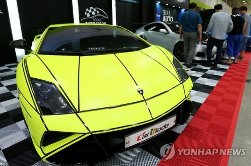Car Enthusiasts Flock to COEX for Seoul Auto Salon