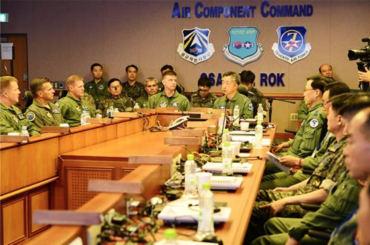 Seoul, Washington Discuss Joint Air Power Operations