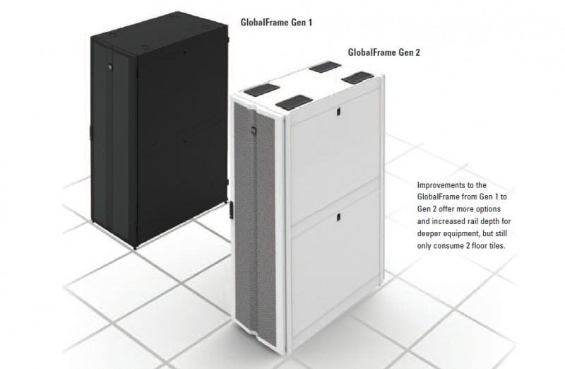 New GT-Series GlobalFrame® Gen 2 Cabinet System from Chatsworth Products Affordably Maximizes Data Center Applications