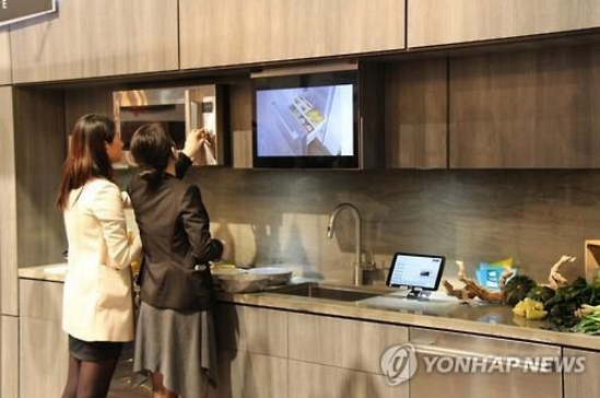 the kitchen has transformed to become more functional than it has been in the past, and that change is leading companies to develop products to serve more purposes besides cooking or other related chores. (image: Yonhap)