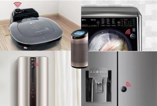 LG's Smart ThinQ Hub. (image: LG Electronics.)