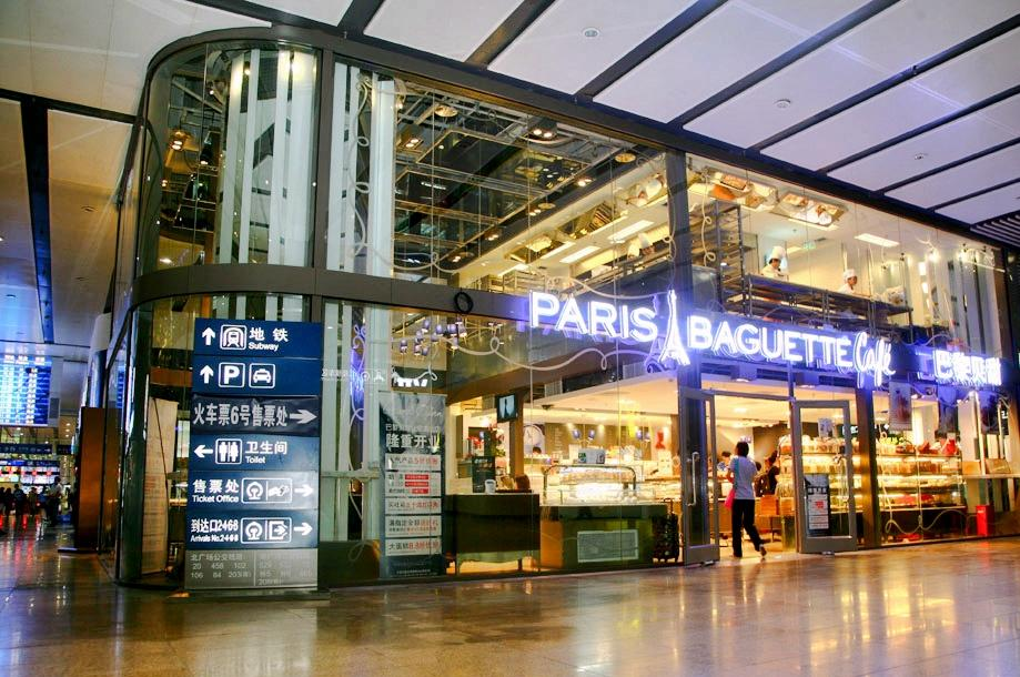 Paris Baguette store in Beijing (image: SPC Group)