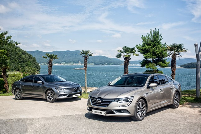 The SM6 has maintained a leading spot in the category for the past three months (taxis non-inclusive), and with this month's launch of the diesel model, Renault Samsung expects a monthly sales record in August. (image: Renault Samsung Motors)
