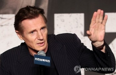 "Liam Neeson Congratulates Success of ""Operation Chromite"""