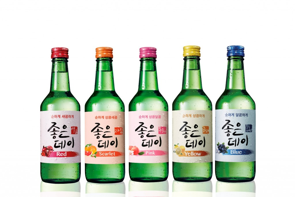 """We're also planning to export our fruit-flavored 'Joeun Day Color Series' starting this month."" (image: Muhak)"